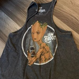 i am groot tank from hot topic